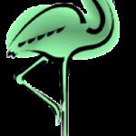 spiruline_flamant_vert